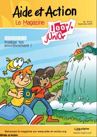 La couverture du 100% Junior